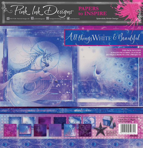 Pink Ink Designs paperipakkaus All Things White & Beautiful, 12