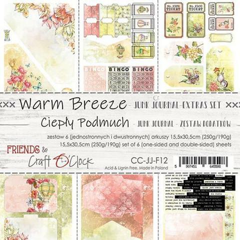 Craft O'clock paperipakkaus Warm Breeze Junk Journal Extras