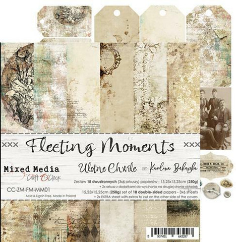 Craft O'clock paperipakkaus Fleeting Moments