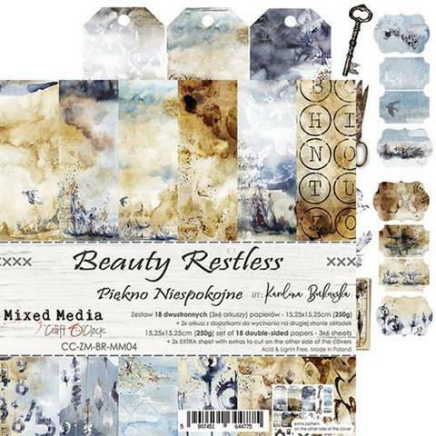 Craft O'clock paperipakkaus Beauty Restless