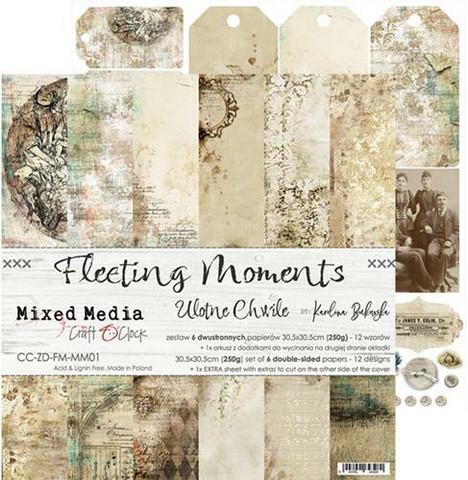 Craft O'clock paperipakkaus Fleeting Moments, 12