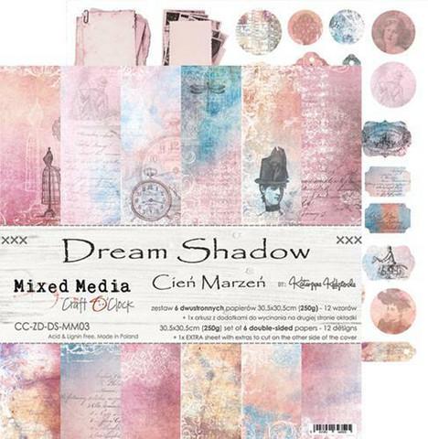 Craft O'clock paperipakkaus Dream Shadow, 12