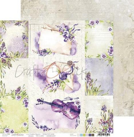 Craft O'clock skräppipaperi Creative Reverie, Decorative Cards
