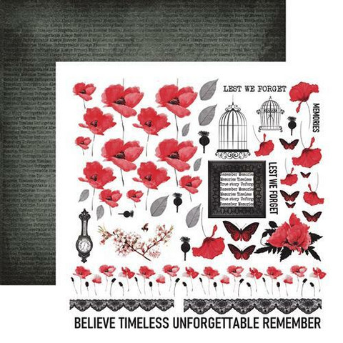13@rts skräppipaperi Unforgettable, Timeless