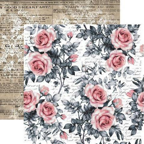 13@rts skräppipaperi Rosalie, Sweet Roses