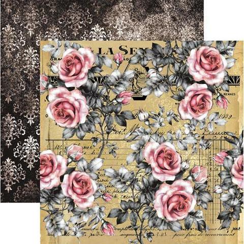 13@rts skräppipaperi Rosalie, Vintage Rosefield
