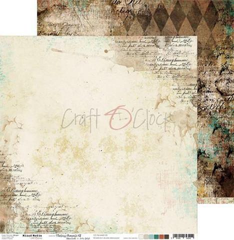 Craft O'clock skräppipaperi Mixed Media, Fleeting Moments 03
