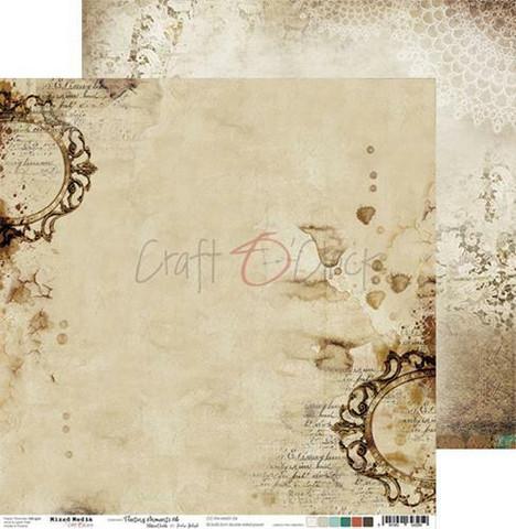 Craft O'clock skräppipaperi Mixed Media, Fleeting Moments 04