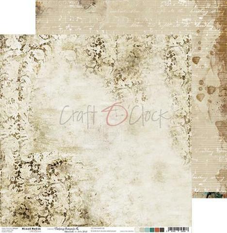 Craft O'clock skräppipaperi Mixed Media, Fleeting Moments 05