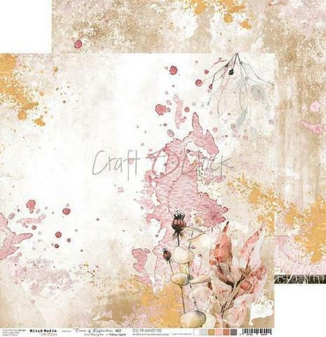 Craft O'clock skräppipaperi Mixed Media, Time of Reflection 02