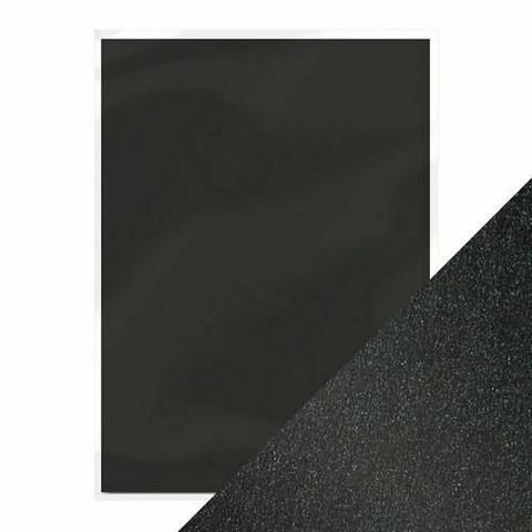 Tonic helmiäiskartonki, sävy Onyx Black, 5 kpl