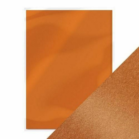 Tonic helmiäiskartonki, sävy Cosmic Copper, 5 kpl