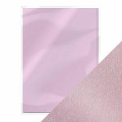 Tonic helmiäiskartonki, sävy Gleaming Lilac, 5 kpl