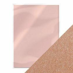 Tonic helmiäiskartonki, sävy Blushing Pink, 5 kpl
