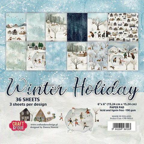 Craft & You paperipakkaus Winter Holiday
