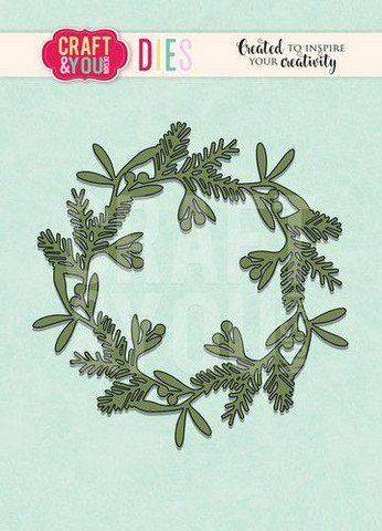 Craft & You stanssi Mixed Wreath