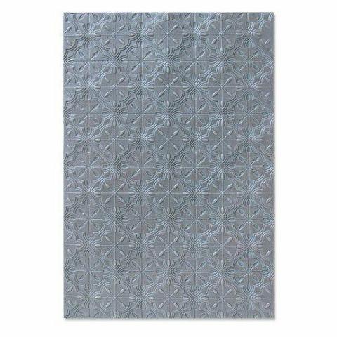 Sizzix 3-D Textured Impressions A6 kohokuviointikansio Tileable