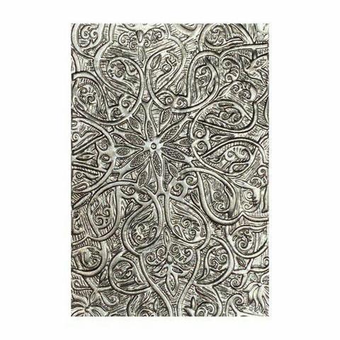 Sizzix 3-D Texture Fades A6 kohokuviointikansio Engraved by Tim Holtz