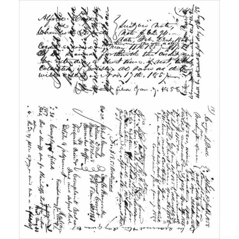 Stampers Anonymous, Tim Holtz leimasinsetti Ledger Script
