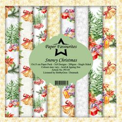 Paper Favourites Snowy Christmas -paperipakkaus