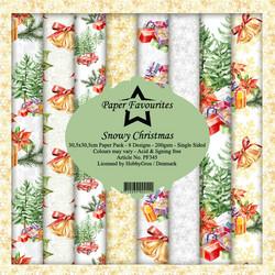 Paper Favourites Snowy Christmas -paperipakkaus, 12