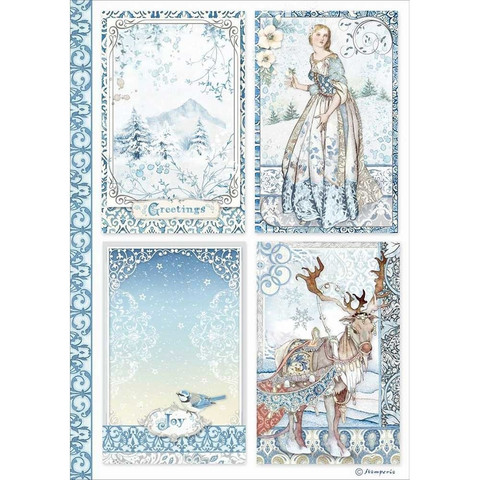 Stamperia riisipaperi Cards