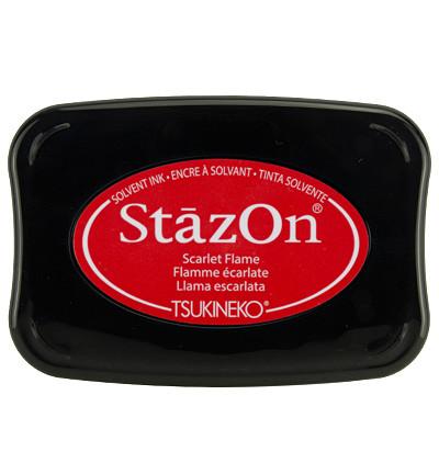 StazOn -leimasintyyny, sävy Scarlet Flame