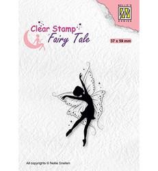 Nellie's Choice Fairy Tale leimasin Dancing Elf