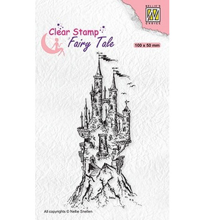 Nellie's Choice Fairy Tale leimasin Elves Castle