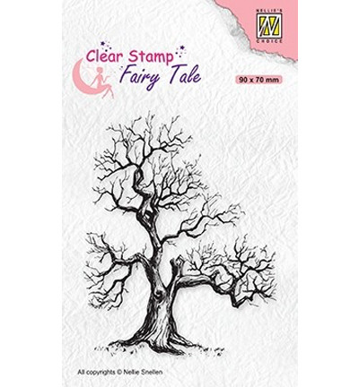 Nellie's Choice Fairy Tale leimasin Elves Tree