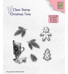 Nellie's Choice leimasin Christmas Decorations