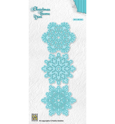 Nellie's Choice stanssi Snowflakes