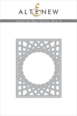 Altenew Layered Geo Cover A -stanssi