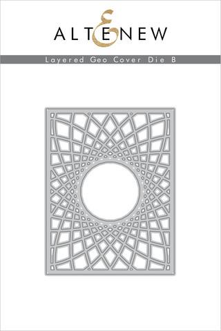 Altenew Layered Geo Cover B -stanssi