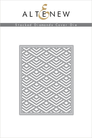 Altenew Layered Stacked Diamonds Cover -stanssi