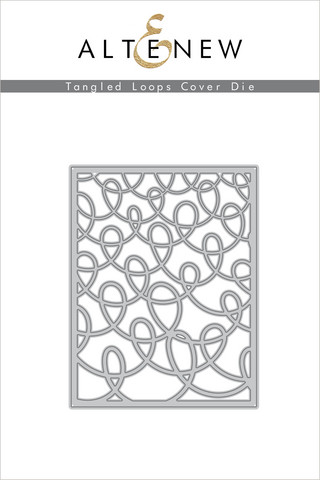 Altenew Tangled Loops Cover -stanssi