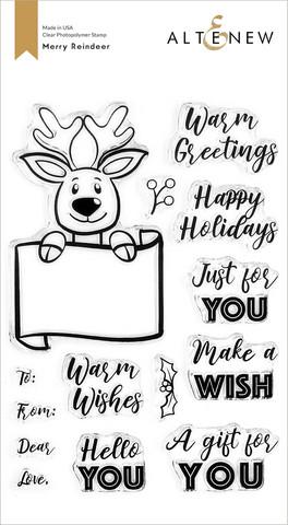 Altenew Merry Reindeer -leimasinsetti