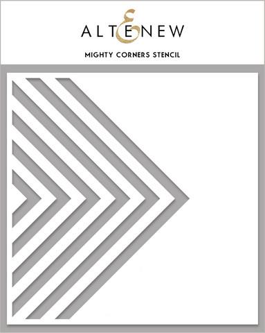 Altenew Mighty Corners -sapluuna
