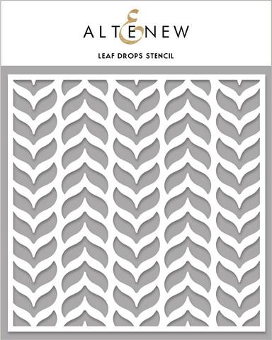 Altenew Leaf Drops -sapluuna