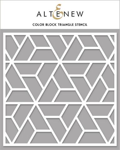 Altenew Color Block Triangle -sapluuna