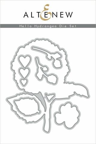 Altenew Hello Hydrangea -stanssisetti