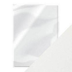 Tonic helmiäiskartonki, sävy Pearl White 5 kpl