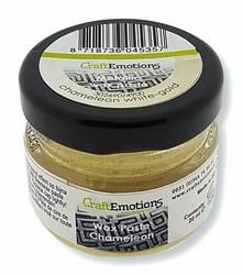 CraftEmotions Wax Paste Chameleon -vaha, sävy White-Gold