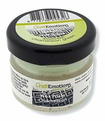 CraftEmotions Wax Paste Chameleon -vaha, sävy Green