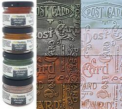 CraftEmotions Wax Paste Metallic -vahat, setti 2