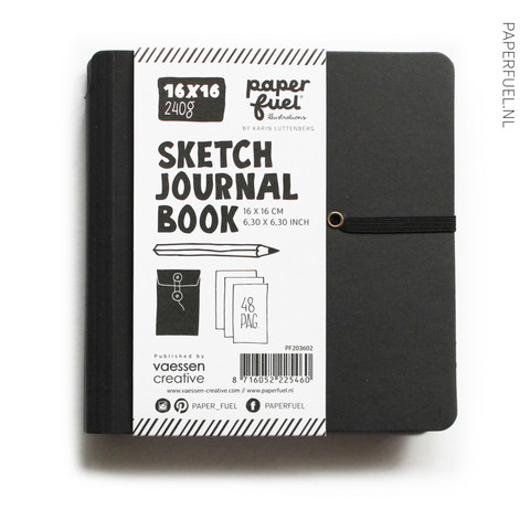 Paperfuel Sketch Journal Book, 16 x 16 cm