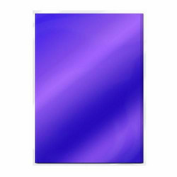 Tonic High Gloss Mirror Card -peilikartonki, sävy Electric Purple, 5 arkkia
