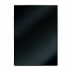 Tonic Satin Effect Mirror Card -peilikartonki, sävy Black Velvet, 5 arkkia