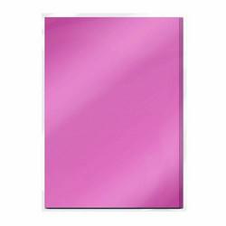Tonic Satin Effect Mirror Card -peilikartonki, sävy Pink Chiffron, 5 arkkia