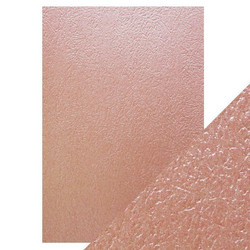 Tonic Luxury Embossed -kartonki, Rose Glacier, 5 arkkia